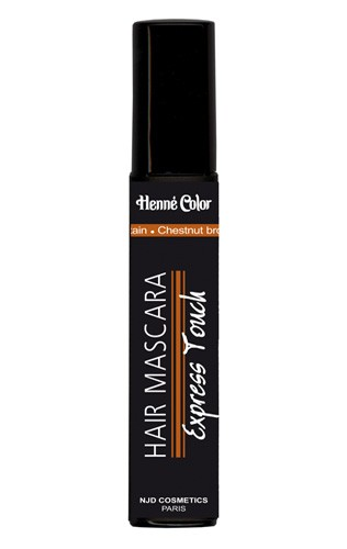 Chestnut Brown Henna Hair Mascara Express Touch