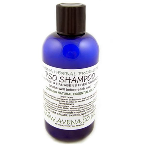 Psoriasis Scalp Shampoo with Natural Essential oils